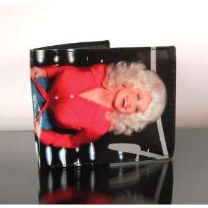 Dolly Parton Custom Leather Wallet