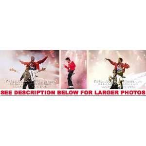 MICHAEL JACKSON VICTORY TOUR w MARLON (3) RARE 8x10 FINE