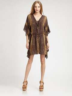 Haute Hippie   Gypsy Silk Sequin Dress