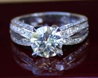 Moissanite, moissanite Engagement Ring items in LKJewelry store on