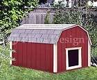 Dog House Plans Gambrel / Barn Roof Style Design 90203B