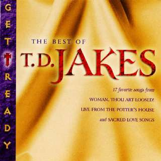 Ready The Best of T.D. Jakes, Bishop T.D. Jakes Christian / Gospel