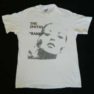 1988 THE SMITHS RANK VTG PROMO T SHIRT MORRISSEY tour
