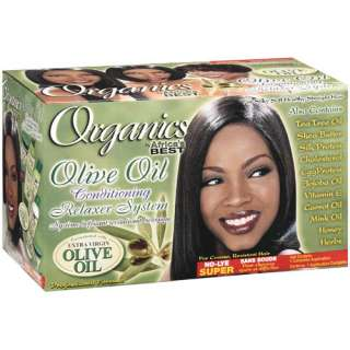 Africas Best Olive Oil Conditioning Relaxer System Hair Care
