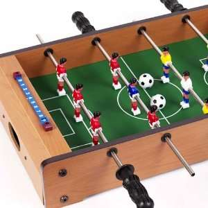 Table Top Foosball Set with Soccer Balls Toys & Games