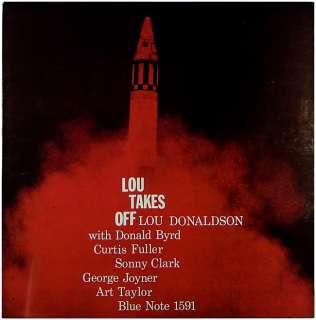 LOU DONALDSON LOU TAKES OFF  ORIG  BLUE NOTE  D.G (LP) NM