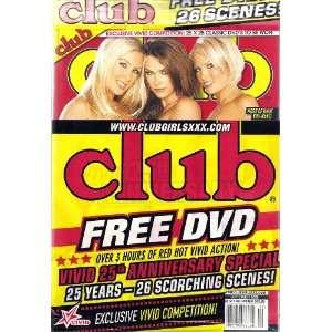 Patrick, Christy Canyon, Sunny Leone with Bonus D.V.D.: CLUB: Books