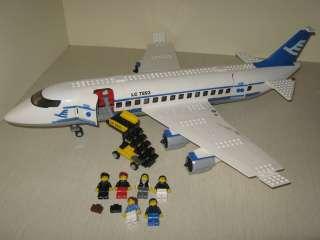Lego City Town 7893 Airplane Passenger Plane Pieces Bricks Parts