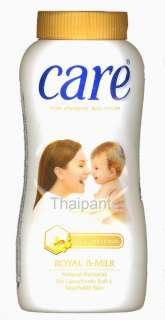 Care Hypo allergenic baby powder Milk & Honey Extracts