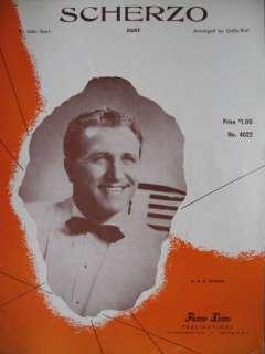 Galla Rini Accordion Duet Sheet Music John Gart Scherzo