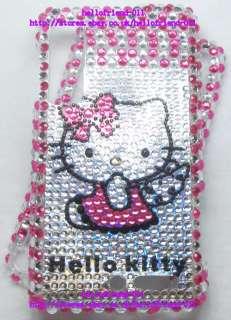 New hello Kitty Bling Full Case Cover for Motorola Droid 3 #12