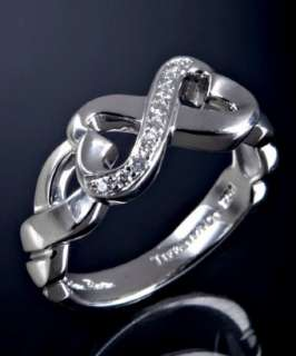 Tiffany & Co. diamond and white gold Loving heart ring   up