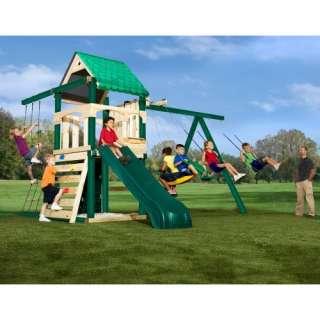 Swing N Slide Yukon Wood Swing Set Outdoor Play