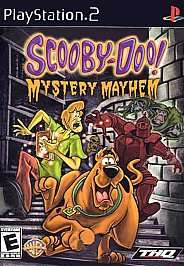 Scooby Doo Mystery Mayhem Sony PlayStation 2, 2004 752919460344