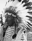 vintage great native american indian chief red cloud photo western
