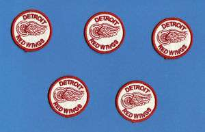 Lot Detroit Red Wings NHL Hockey Small Patches Crests