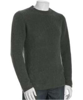 Paul Smith grey wool mohair crewneck pullover sweater   up to