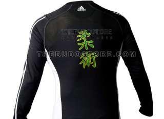 adidas Jiu Jitsu Long Sleeve Rash Guard