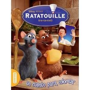 RATATOUILLE. UN CUENTO PARA COLOREAR (9788424158958) Walt