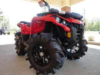 NEW 2012 CAN AM OUTLANDER 1000 R 4X4 ATV V TWIN ROTAX QUAD LIFTED LIKE