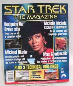 Nov 1999 STAR TREK Magazine NICHELLE NICHOLS etc