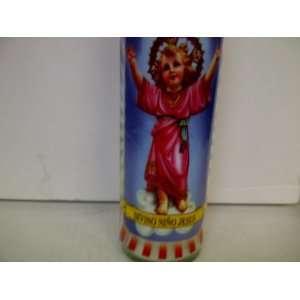 Baby Jesus Saint Candle: Divino Nino Jesus 8 Religious Candle