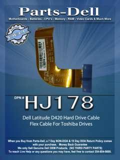 Dell Latitude D420 Hard Drive Flex Cable HJ178 Toshiba
