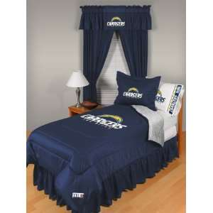 NFL San Diego Chargers Complete Bedding Set Sports