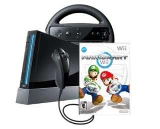 Nintendo Wii Console Mario Kart Bundle 2011   Wii Sports  Race O Rama